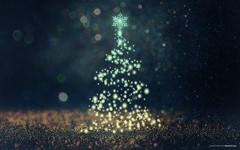 Wallpaper: Abstract Christmas Tree