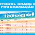 Programação da lotogol 1029 grade dos próximos 5 jogos