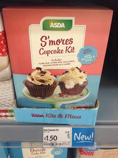 asda smores cupcake kit