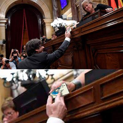 Memes de la declaración de Independencia de Cataluña