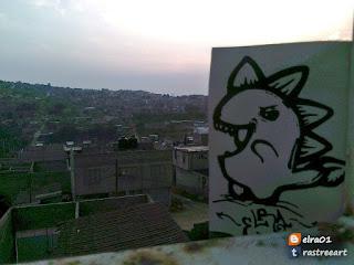 Sticker urban art como parte del Street Art