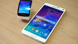 Samsung Gear S and Samsung Galaxy Note 4