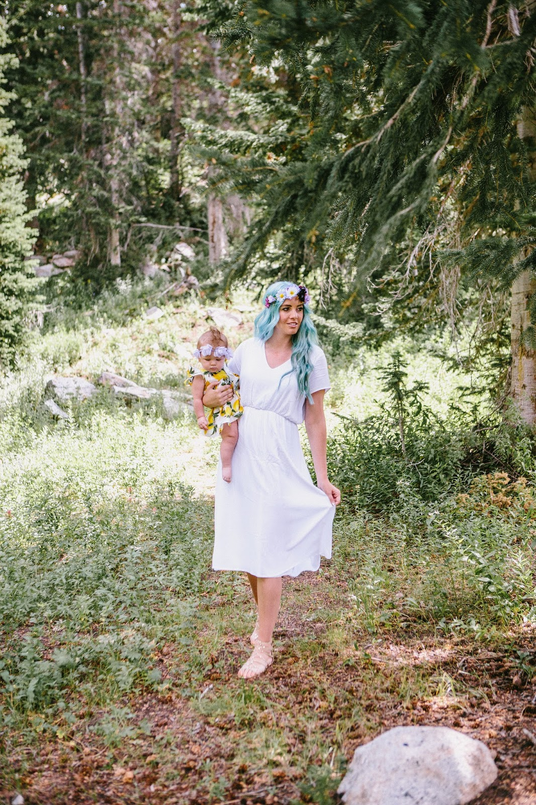 The High Pines, Utah Fashion Blogger, Mountain Photoshoot