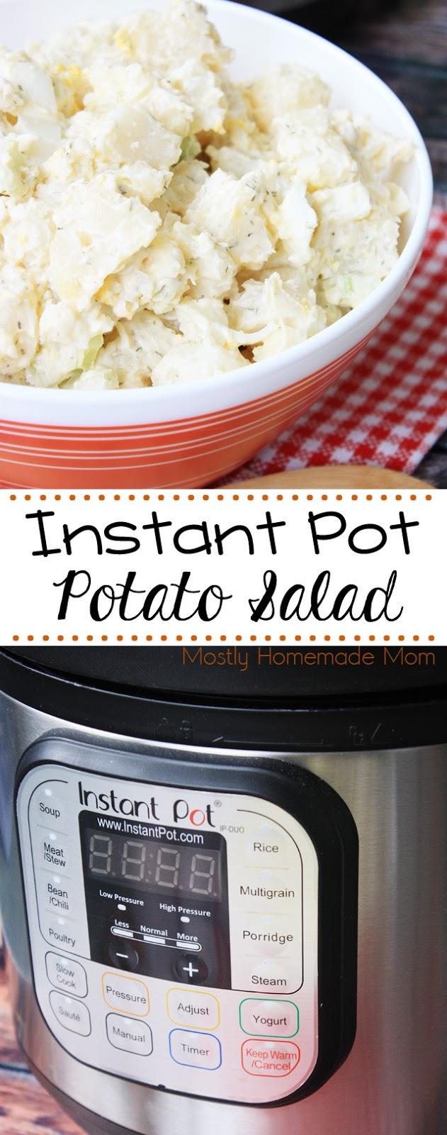 instant pot 7 in 1 potato salad