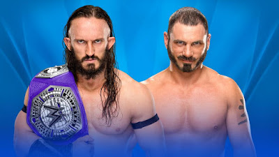 WWE Cruiserweight Champion Neville vs. Austin Aries