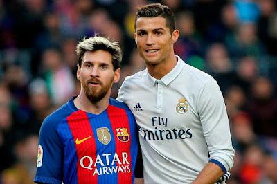 Ronaldo Unggul Telak Atas Messi