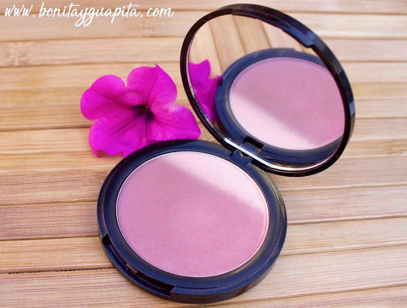 mauve me colorete ombre blush nyx