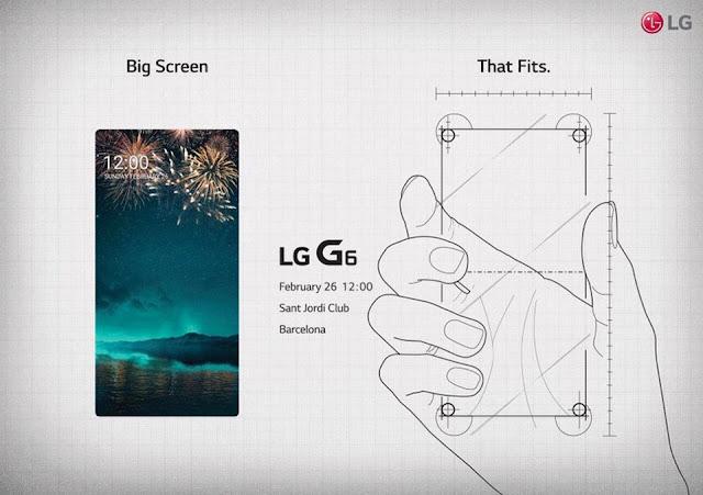 LG chính thức gửi thư mời ra mắt sản phẩm LG G6