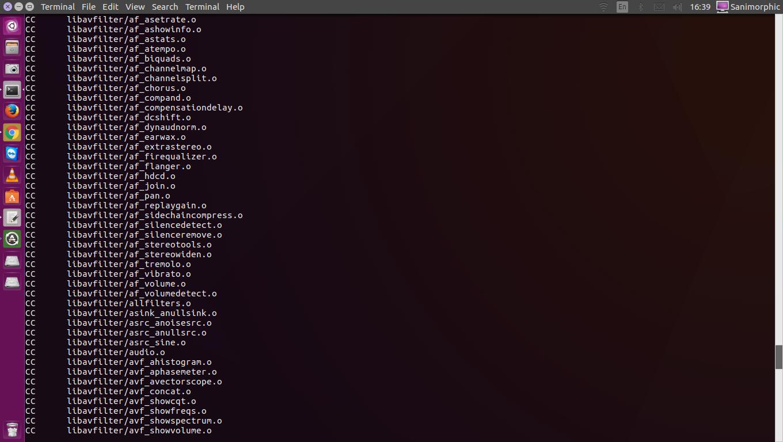 FFmpeg 3 1 5 Release, Install on Ubuntu 16 10, Ubuntu 16 04