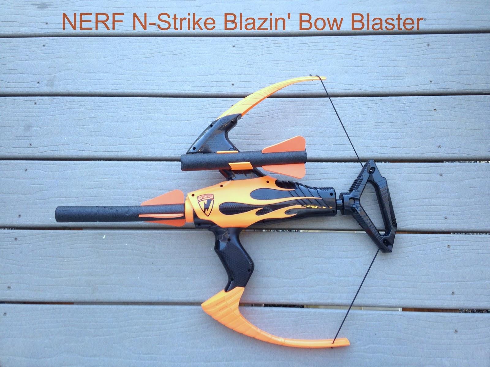 Nerf N Strike Blazin Bow Blaster Review