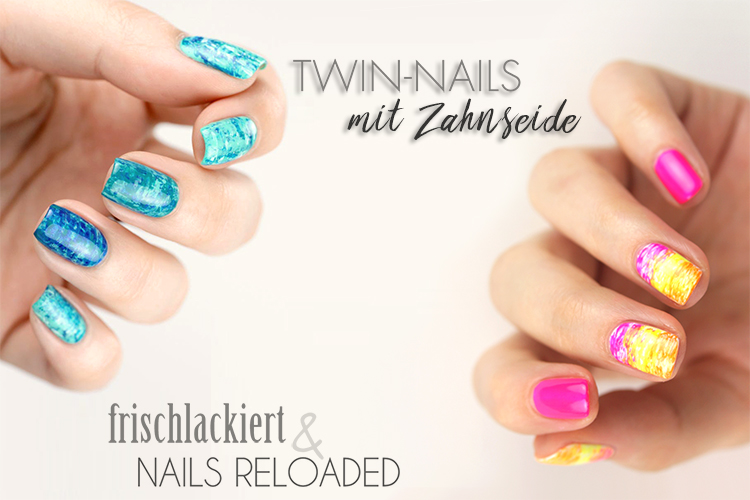 nageldesign twin nails mit frischlackiert nails reloaded by naileni. Black Bedroom Furniture Sets. Home Design Ideas