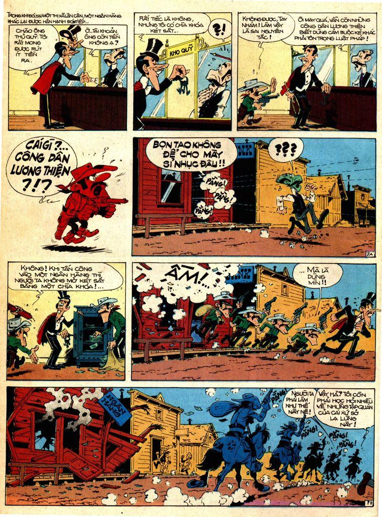 Lucky Luke tap 1 - ban tay nham trang 7