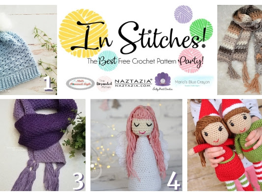 In Stitches - Best Free Crochet Patterns Link Up Party Week #26