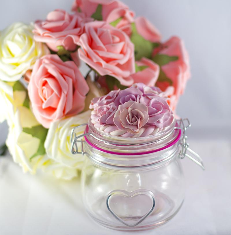 pastel rose, pastelowa róża