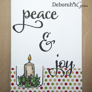 Peace & Joy sq - photo by Deborah Frings - Deborah's Gems