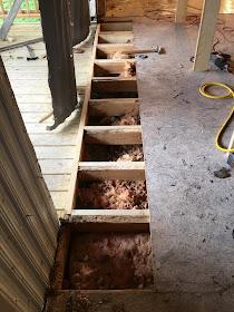 Rustic Gems In Texas Repairs Framing And Subfloor