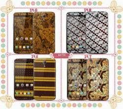 garskin batik bisa custom harga dimulai dari 12rb untuk handphone dan laptop