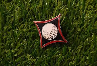 A lovely Ninja Golf pin badge