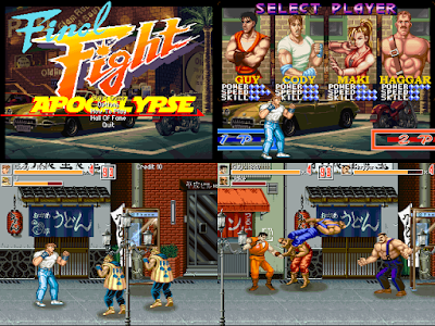 Jogo Final Fight Apocalypse - 1st Edition PC Capa