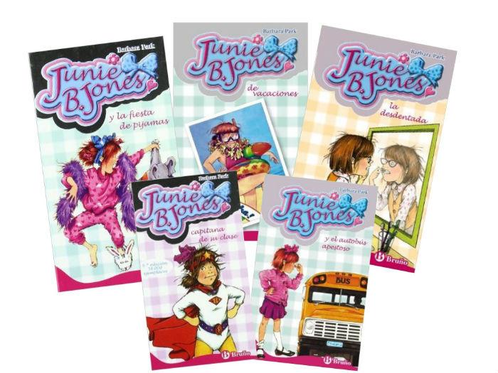 colección libros capítulos infantiles, Junie B. Jones interior