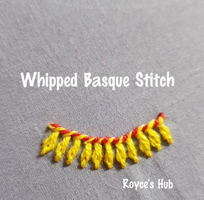 Whipped Basque Stitch