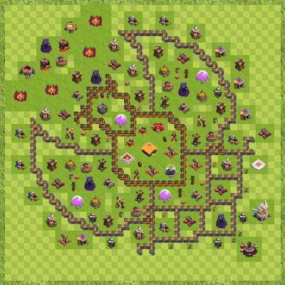 War Base Town Hall Level 11 By Oscar Dido (anouar TH 11 Layout)