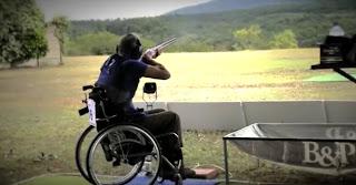 TIRO AL PLATO - Nuevas modalidades paralímpicas
