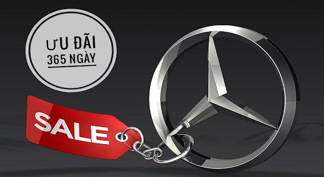 Mercedes Hà Nội thường xuyên áp dụng các Chương trình khuyến mãi trong tháng