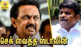 Stalin demanded governor to dismiss vijayabaskar