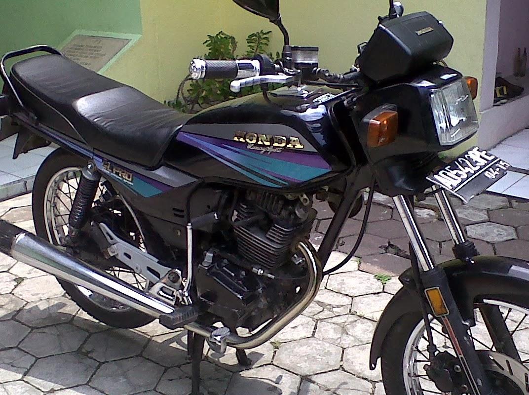 Honda GL Pro Modifikasi