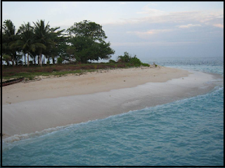 Objek Wisata Pulau Kasiak Padang Pariaman