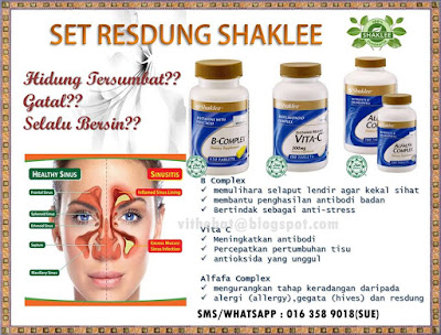 set resdung shaklee
