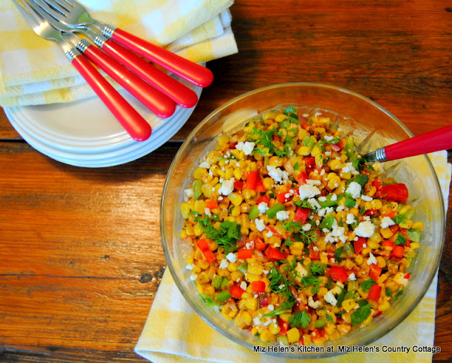 El Rancho Corn Salad at Miz Helen's Country Cottage