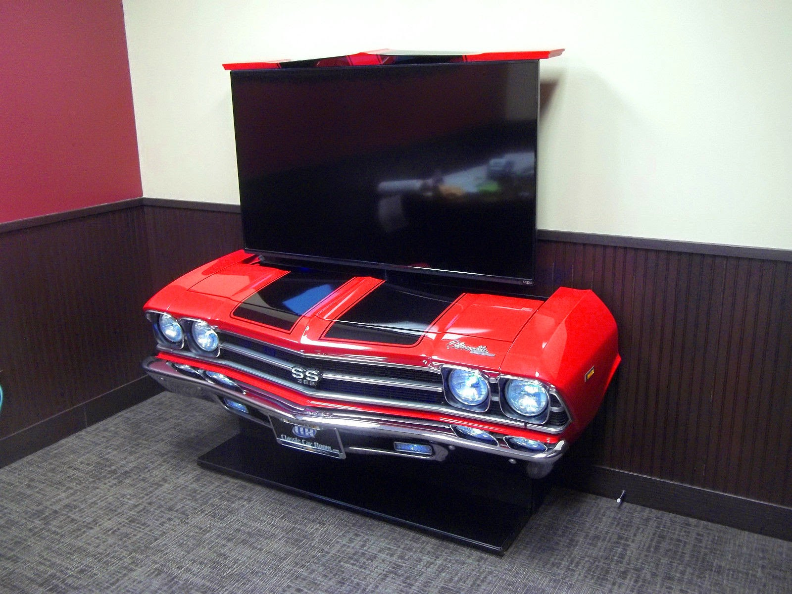 Daily Turismo: 5k: 1969 Chevrolet Chevelle SS TV Stand