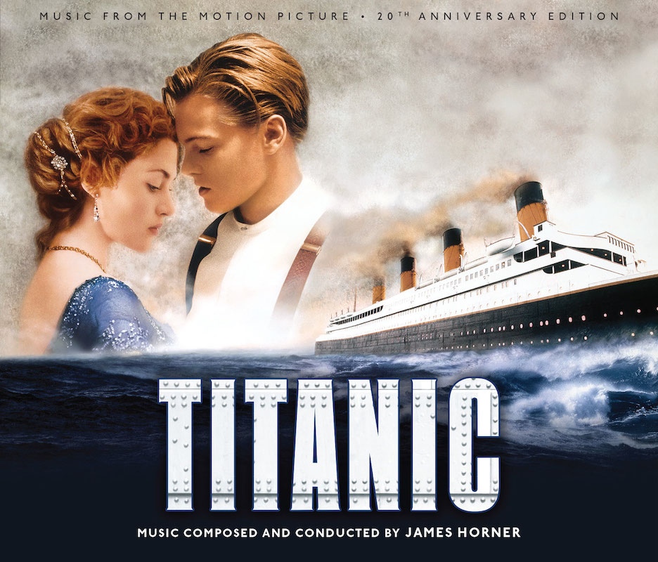 Chronological scores soundtracks titanic for I salonisti titanic