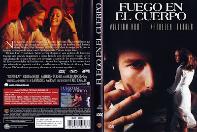 Carátula dvd: Fuego en el cuerpo (1981) Body Heat
