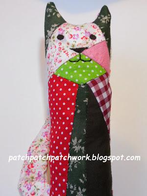#gato de patchwork