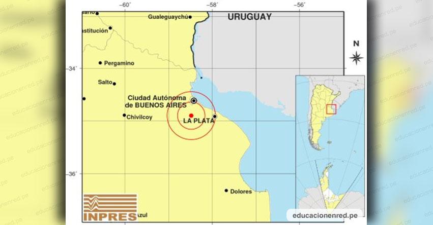 Temblor en Argentina de Magnitud 3.8 (Hoy Viernes 30 Noviembre 2018) Sismo Terremoto Epicentro Buenos Aires - Caba - La Plata - Chivilcoy - INPRES - www.inpres.gob.ar