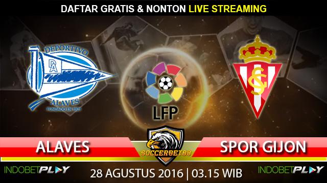 Prediksi Alaves vs Sporting Gijon 28 Agustus 2016 (Liga Spanyol)