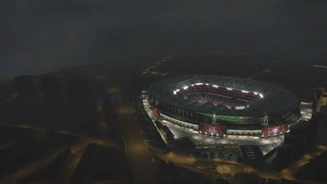 PES 2017 New DayFine DayRain NightFine 8 Stadium + Exterior dari Isan Fajar
