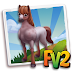 Fv 2 Strawberry Roan Quarter Horse (baby ,adult,prized)