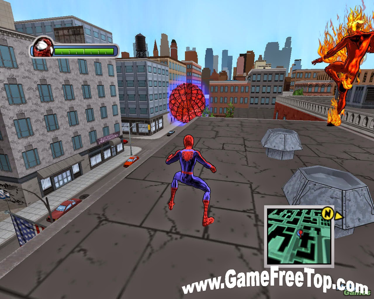 Ultimate SpiderMan - Full Version Game Download - PcGameFreeTop
