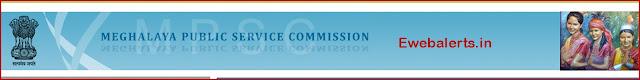 Meghalaya PSC Admit Card