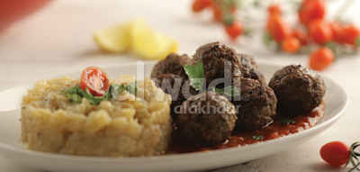 Meatballs with Smokey Eggplant Pulp