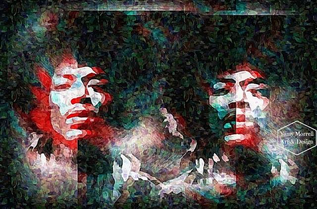 Jimi-Hendrix-impressionism-digital-art-by-yamy-morrell