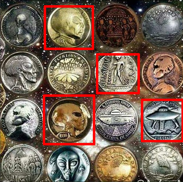 Alien Coins Found On Earth