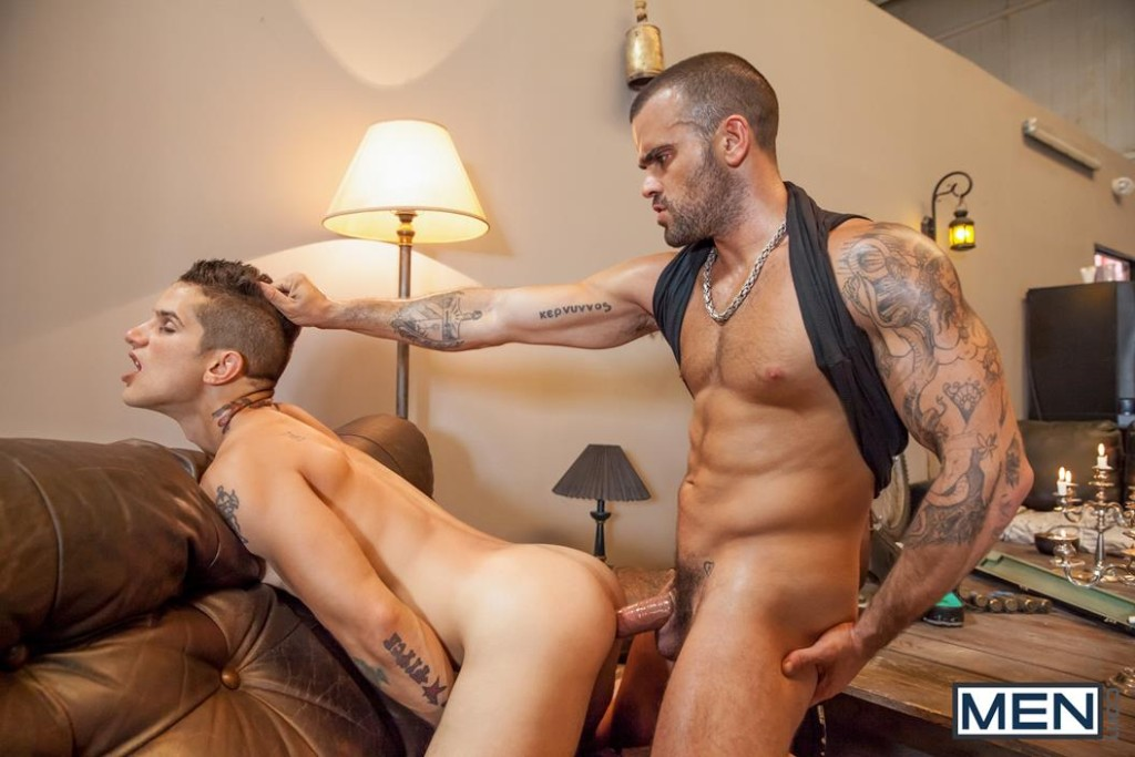 Vídeo Pornô Gay - Damien Crosse & Pierre Fitch