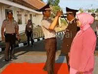 Polres Lampung Utara Gelar Upacara Purna Bakti Personil