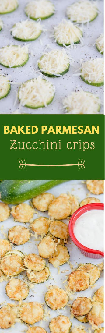 Prepared PARMESAN ZUCCHINI CRISPS #crips#food