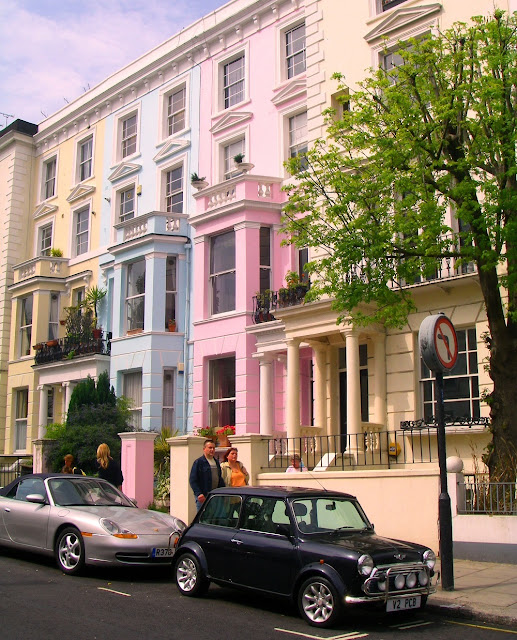 Promenad i London -Notting Hill